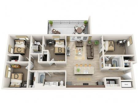 Four Bedroom - C