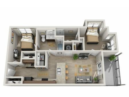 Two Bedroom- B