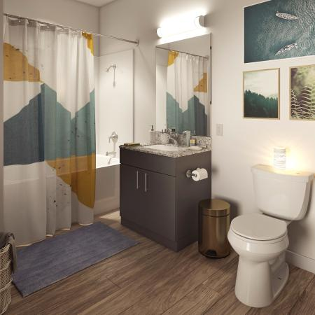Onshore Apartment Bathroom