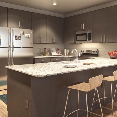Onshore Apartment Kitchen