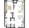 1BR/1BA - Tower 18