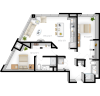 2BR/2BA - Red Wing