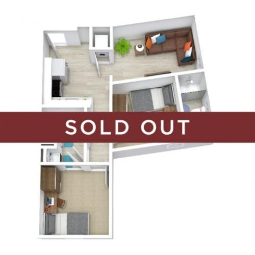 2BR/2BA - Premium - B - sold out