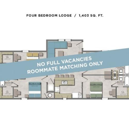 4 bedroom lodge
