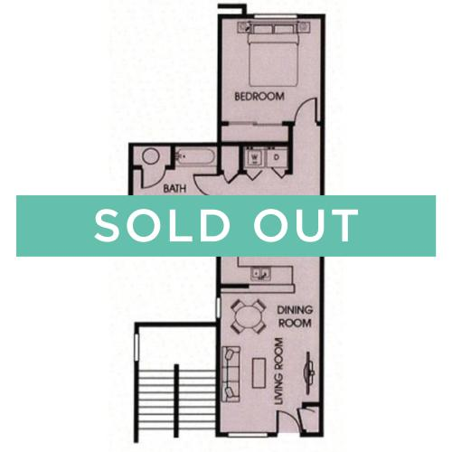 1x1 - 725 sqft - sold out