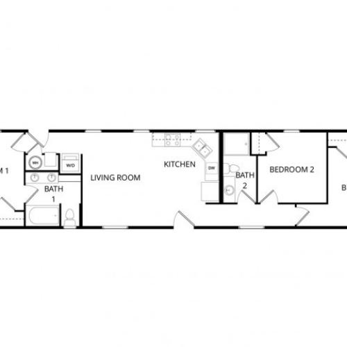3 bedroom home
