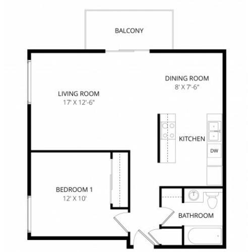 1 Bed / 1 Bath Apartment In Mountlake Terrace WA