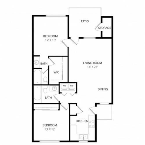 Desert Homes Apartments: 3 Bed / 2 Bath Apartment In SCOTTSDALE AZ