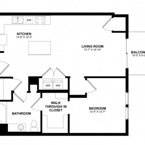 Covington 1 bedroom A
