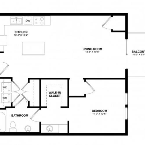 Covington 1 bedroom E