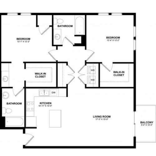Covington 2 bedroom F