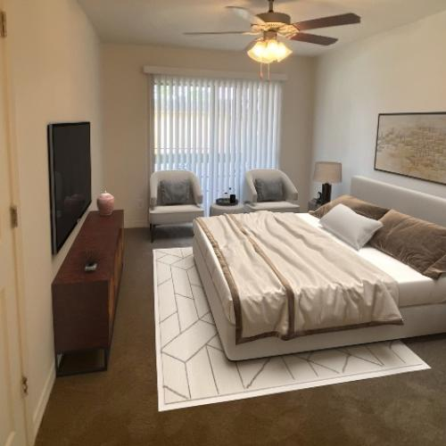 studio, bed, pets, military, student