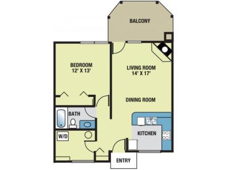 Greenhill Apartments Kalamazoo Redwood Floor Plans