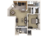 A One Bedroom Apartment