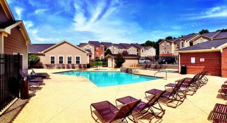 Pool   Level 27 Apartments near Miami University