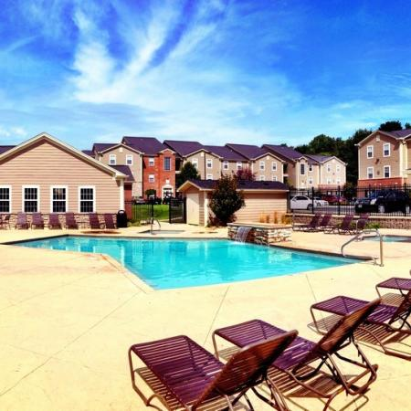 Pool | Level 27 Apartments near Miami University