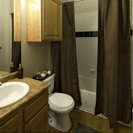 Bathroom | Student Housing in Lawrence Kansas