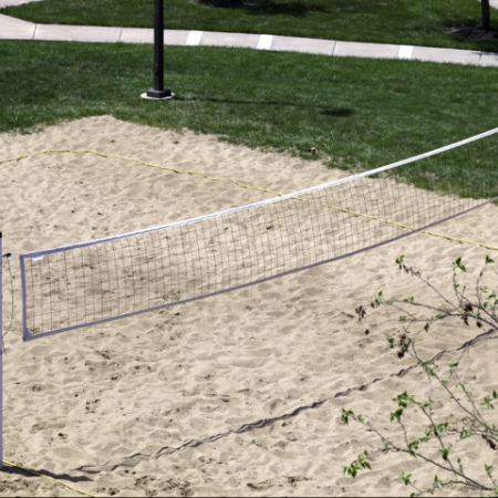 Volleyball Court | University of Kansas Student Housing