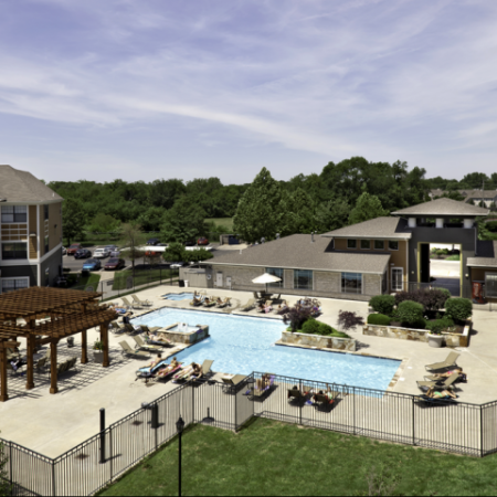 Pool | Student Apartments in Lawrence, Kansas
