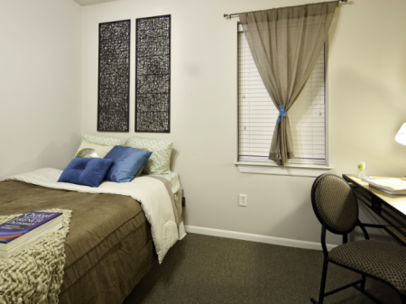 Furnished Bedroom | Off-Campus Housing in Lawrence Kansas