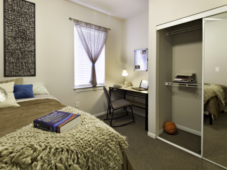 Bedroom | Apartments near Haskell Indian Nation University