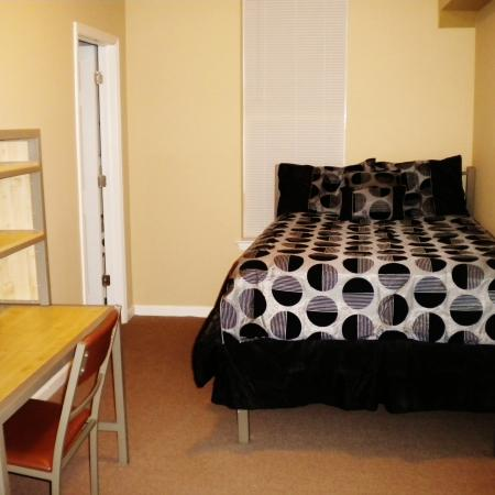 Spacious Master Bedroom | WVU Apartments For Rent | The Lofts