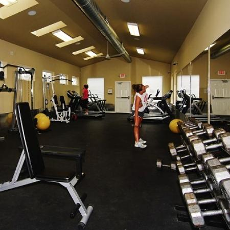 State-of-the-Art Fitness Center | WVU Off Campus Housing | The Lofts