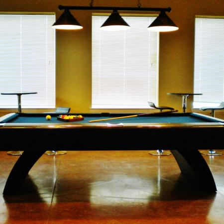 Resident Pool Table | WVU Apartments | The Lofts