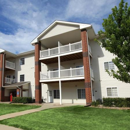 South Duff Apartments exterior and balconies