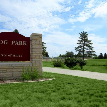 City of Ames Dog Park near South Duff Apartments