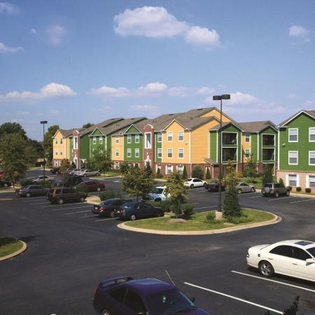 Hilltop Club Apartments and Parking Lot | WKU Student Apartments