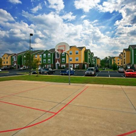 Hilltop Club Apartments Basketball Court