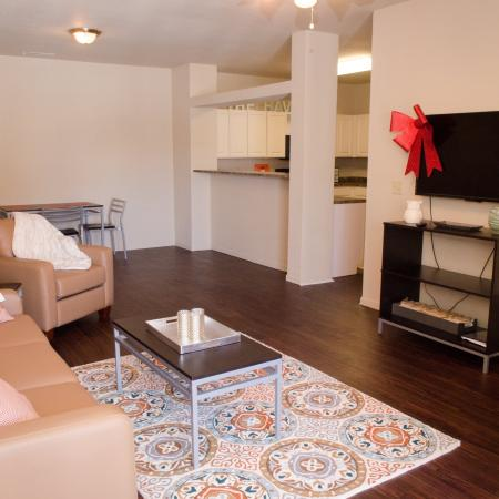 Elegant Living Area | Apartment Homes In Muncie | The Haven