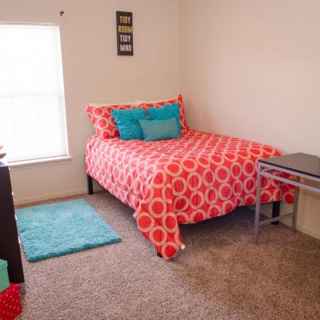 Luxurious Bedroom | Apartments in Muncie | The Haven