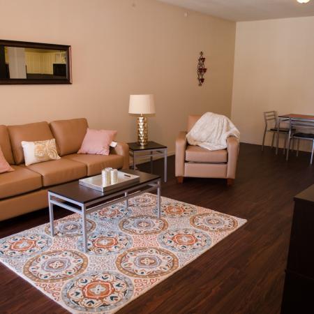 Elegant Living Room | Muncie Apartments | The Haven