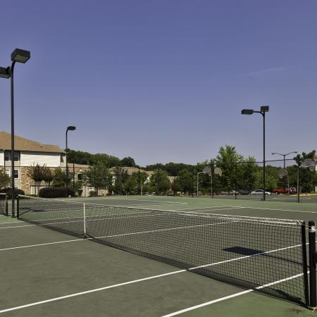 Tennis courts at The Reserve at Athens