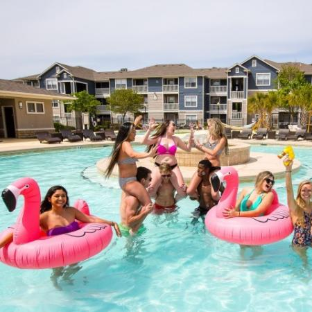 Resort Style Pool | ECU Off Campus Housing | The Landing
