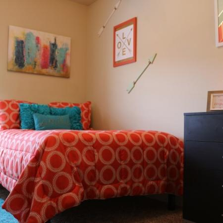 Spacious Bedroom | Muncie Indiana Apartments | The Haven