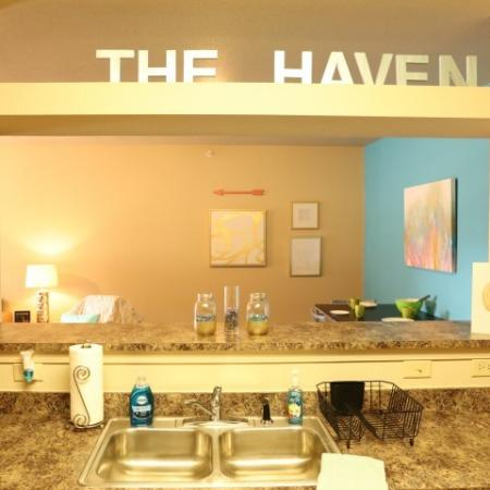 Spacious Bathroom | Apartment Homes In Muncie | The Haven