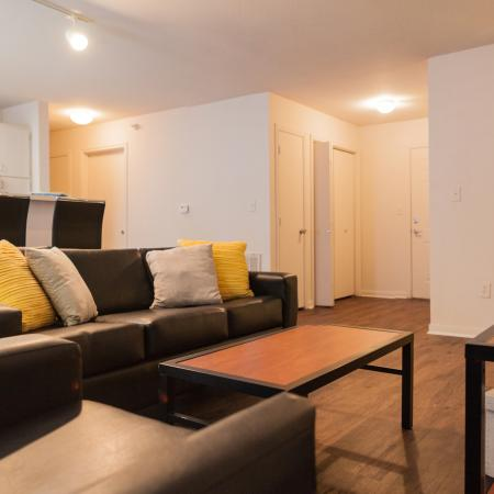 Spacious Living Area | Lincoln Nebraska Apartments | The View