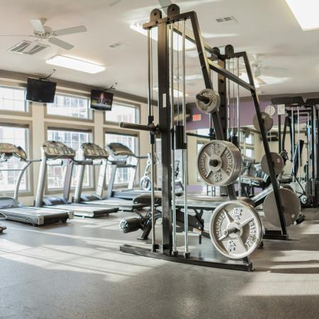 Cutting Edge Fitness Center | Lincoln Nebraska Apartments | The View