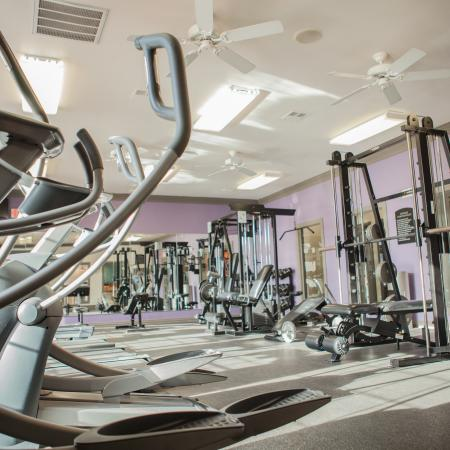 State-of-the-Art Fitness Center | Lincoln Nebraska Apartments for Rent | The View