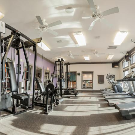 Resident Fitness Center | Apartment Homes In Lincoln | The View