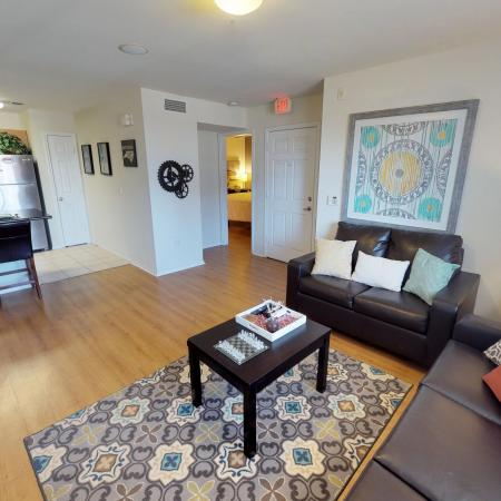 Luxurious Living Room | Off Campus Housing ECU | The Landing