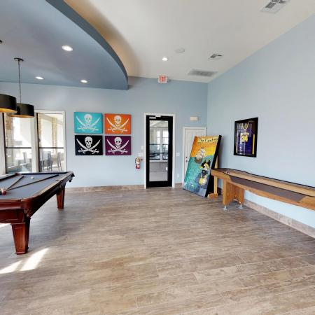 Resident Game Room | ECU Off Campus Housing | The Landing