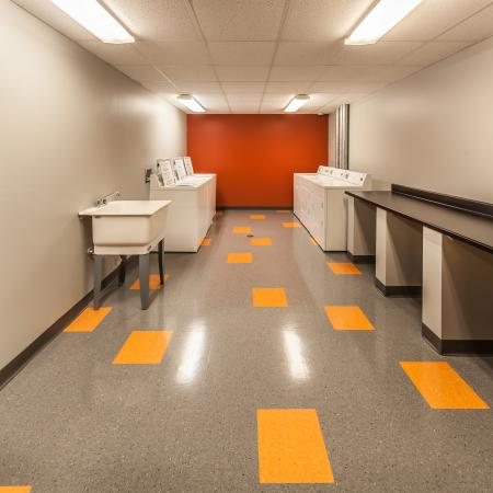 Resident Laundry Room | IU On Campus Apartments | Smallwood Plaza