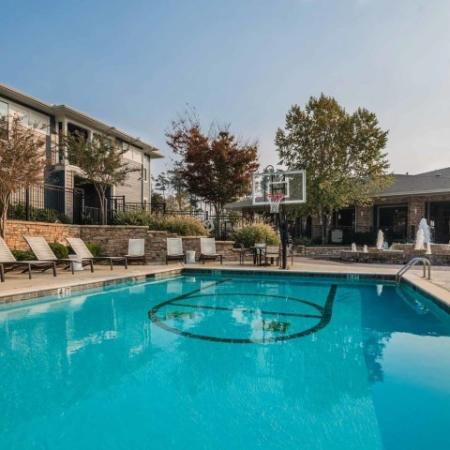 Playing in the Pool | 1 Bedroom Apartments Athens GA | The Connection at Athens
