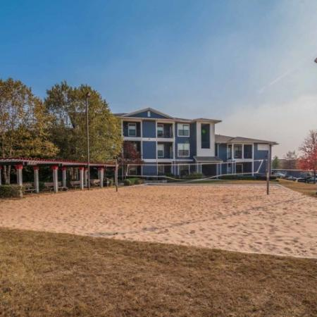 Sand Volleyball Court | Athens GA Student Apartments | The Connection at Athens