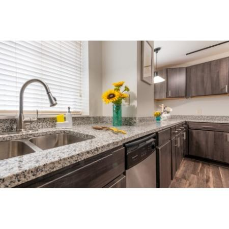 Modern Kitchen | IU Off Campus Apartments | The Avenue