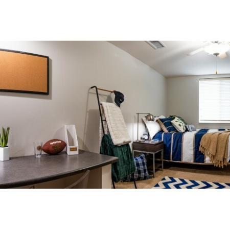 Spacious Bedroom | ISU On Campus Apartments | Smallwood Plaza